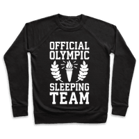 Official Olympic Sleeping Team