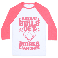Baseball Girls Get Bigger Diamonds
