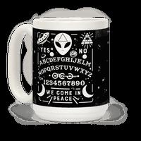 Occult Alien Ouija Board Mug