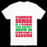 Common Sense is a Flower