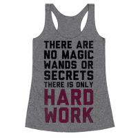 There are No Magic Wands or Secrets. There is only HARD WORK