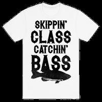 Skippin' Class Catchin' Bass