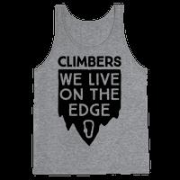 Climbers Live On The Edge
