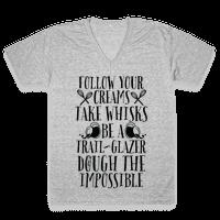 Take Whisks & Be a Trail Glazer Vneck