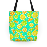 Fresh Cut Slices Tote
