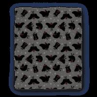 Cute Mothman Pattern Blanket