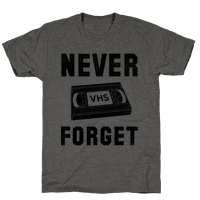 Never Forget (VHS)