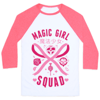 Magic Girl Squad Baseball