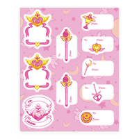 Magical Girl Gift Tags Sticker