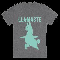 Llamaste Yoga Llama Vneck