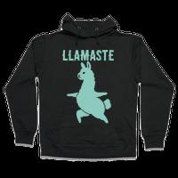 Llamaste Yoga Llama Hoodie