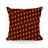Gryffindor House Lightning Bolt Pattern