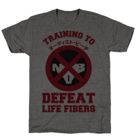 Training To Defeat Life Fibers