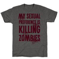 My Sexual Preference Is Killing Zombies