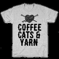 Coffee, Cats and Yarn