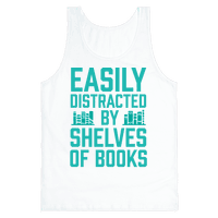 Easily Distracted By Shelves Of Books