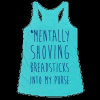 Mentally Shoving Breadsticks Into My Purse
