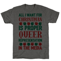All I Want For Christmas Is Proper Queer Representation In The Media