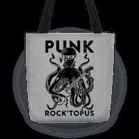 Punk Rocktopus Tote