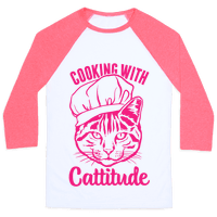 Cooking With Cattitude Baseball