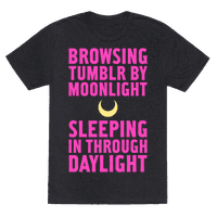 Browsing Tumblr By Moonlight, Sleeping In Through Daylight