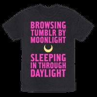Browsing Tumblr By Moonlight, Sleeping In Through Daylight
