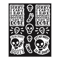 Spoopy Dooty Mr. Skeltal Sticker