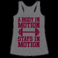 A Body In Motion
