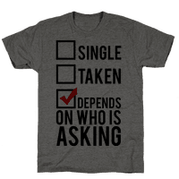 Single? Taken? It Depends on Who is Asking!