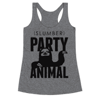 Slumber Party Animal Racerback