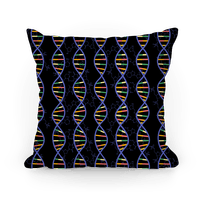 DNA Strands and Molecular Structure Pattern