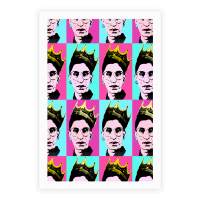 Notorious RBG Pop Art Pattern Poster