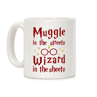 Muggle In Streets Wizard In The Sheets