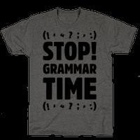 Stop Grammar Time Parody