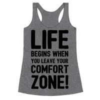 Life Begins When You Leave Your Comfort Zone!