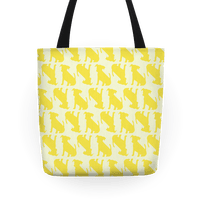 Yellow Puppy Pattern