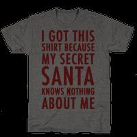 Secret Santa Shirt