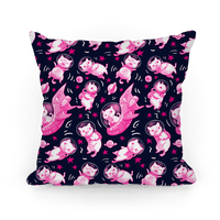 Cats In Space Pillow