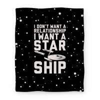 I Want A Starship Blanket