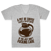 A Pot of Coffee Can Be a Cup of Coffee