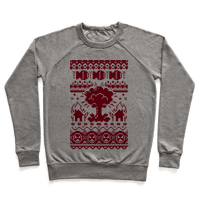 Nuclear Christmas Sweater Pattern