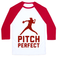 Pitch Perfect (Baseball Tee)