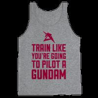 Train Like You're Going To Pilot A Gundam