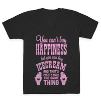 b91ea3d9418d You Can t Buy Happiness but You Can Buy Ice Cream Racerback Tank ...