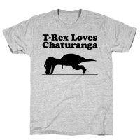 T-Rex Loves Chaturanga