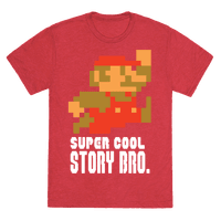 Super Cool Story Bro. Tee