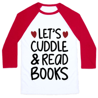 Let's Cuddle And Read Books Baseball