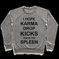 I Hope Karma Dropkicks You in the Spleen