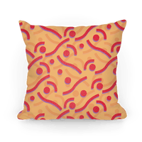 Red And Orange 90's Pattern