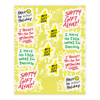 Lazy Gift Giving Sticker